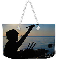 Capturing  New Castle Weekender Tote Bag