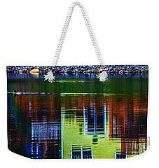 New England Landscape Illusion Weekender Tote Bag