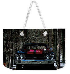 Car Art Chevy Chevelle Ss Hdr Weekender Tote Bag