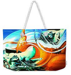 Car Fandango - Modern Art Weekender Tote Bag