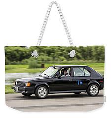 Car No. 76 - 01 Weekender Tote Bag