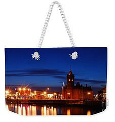 Cardiff Bay Weekender Tote Bag