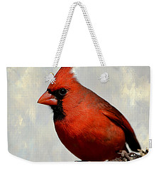 Cardinal 3 Weekender Tote Bag