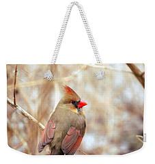 Cardinal Birds Female Weekender Tote Bag