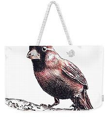Cardinal Male Weekender Tote Bag