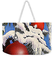 Cardinal One Ball Weekender Tote Bag