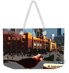 Cardinal Town Weekender Tote Bag