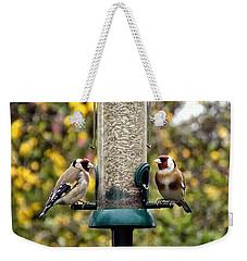 Carduelis Carduelis 'goldfinch' Weekender Tote Bag