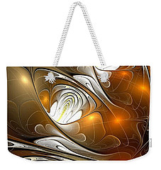 Weekender Tote Bag featuring the digital art Carefree by Anastasiya Malakhova