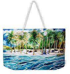 Caribbean Harbor Weekender Tote Bag