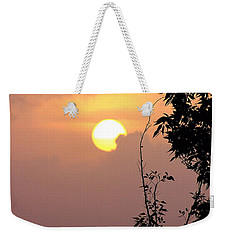 Weekender Tote Bag featuring the photograph Caribbean Summer Solstice  by The Art of Alice Terrill
