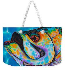 Caribbean Tarpon Fish Weekender Tote Bag