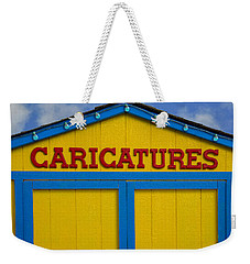 Weekender Tote Bag featuring the photograph Caricatures by Paul Wear