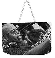 Carl Cox Pencil Drawing Weekender Tote Bag
