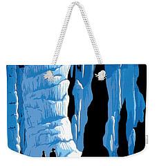 Carlsbad Caverns National Park Vintage Poster Weekender Tote Bag