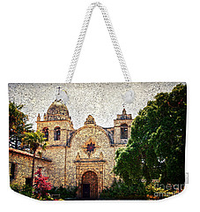 Carmel Mission Weekender Tote Bag
