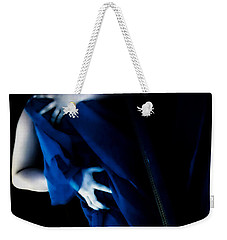 Carnal Blue Weekender Tote Bag by Jessica Shelton