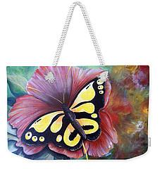 Carnival Butterfly Weekender Tote Bag