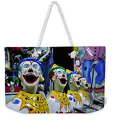 Carnival Clowns Weekender Tote Bag