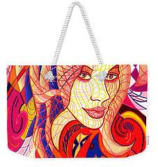 Carnival Girl Weekender Tote Bag