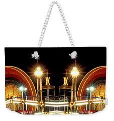 Carnival Light Patterns At Night Weekender Tote Bag
