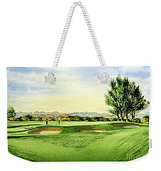 Carnoustie Golf Course 13th Green Weekender Tote Bag