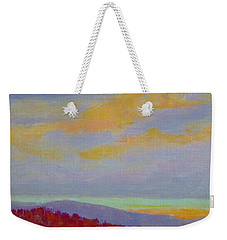 Carolina Autumn Sunset Weekender Tote Bag