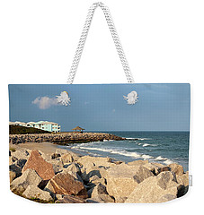 Weekender Tote Bag featuring the photograph Carolina Coast by Cynthia Guinn
