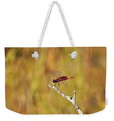 Carolina Saddlebags Dragonfly Weekender Tote Bag