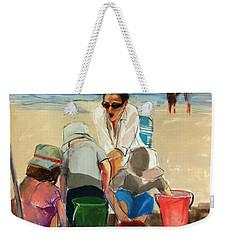 Carolyn Weekender Tote Bag by Daniel Clarke
