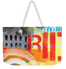 Carousel #6 Ride- Contemporary Abstract Art Weekender Tote Bag