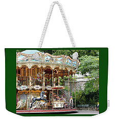 Carousel In Paris Weekender Tote Bag