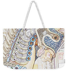Carousel Stallion Weekender Tote Bag
