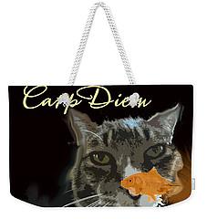 Carp Diem Weekender Tote Bag