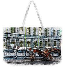 Carriage Rides Series 06 Weekender Tote Bag