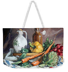 Carrots And Company Weekender Tote Bag by Irek Szelag