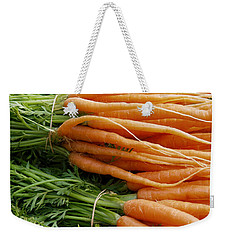 Carrots Weekender Tote Bag by Ron Harpham