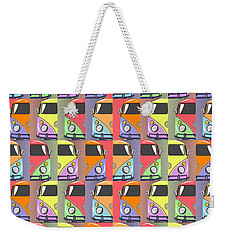 Cars Abstract  Weekender Tote Bag