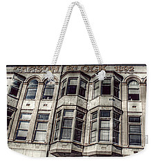 Carson Block Weekender Tote Bag by Melanie Lankford Photography