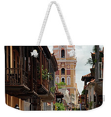 Cartagena Weekender Tote Bag by Jola Martysz