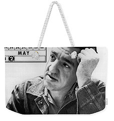Caryl Chessman Weekender Tote Bag by Underwood Archives
