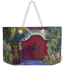 Casa Tecate Gate 2 Weekender Tote Bag by Diane McClary
