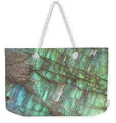 Cascade Of Green Weekender Tote Bag