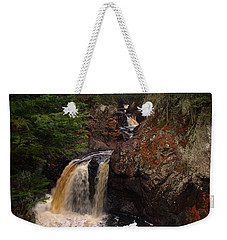 Cascade River Weekender Tote Bag by James Peterson