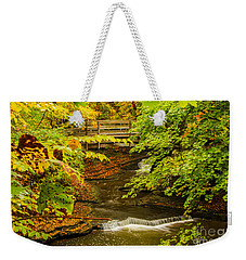 Cascadilla Gorge Cornell University Weekender Tote Bag