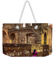 Casco Viejo Sunset Weekender Tote Bag by Kandy Hurley