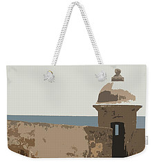 Casita Weekender Tote Bag by Julio Lopez