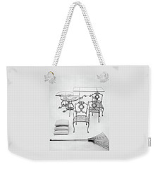 Cast Aluminum Furniture By Molla Weekender Tote Bag