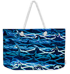 Weekender Tote Bag featuring the photograph Cast Your Net Upon The Waters by Stephanie Grant