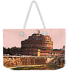 Weekender Tote Bag featuring the photograph Castel Sant 'angelo by Brian Reaves